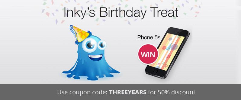 Inky's Colossal Birthday Bundle