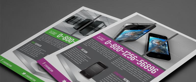 Stockindesign free product showcase flyer stockindesign for Stockindesign