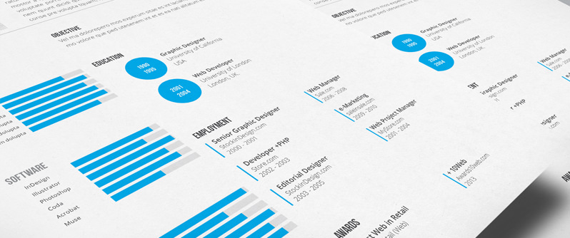 stockindesign clean resume template stockindesign resume indesign template 4521