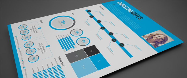 Modern Infographic Resume Template