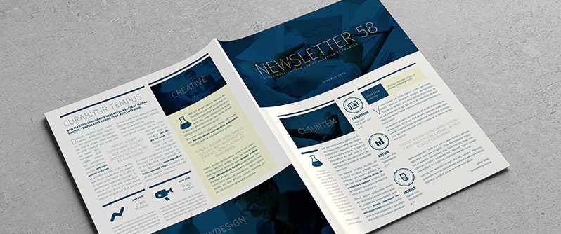 Newsletter Corporate Template